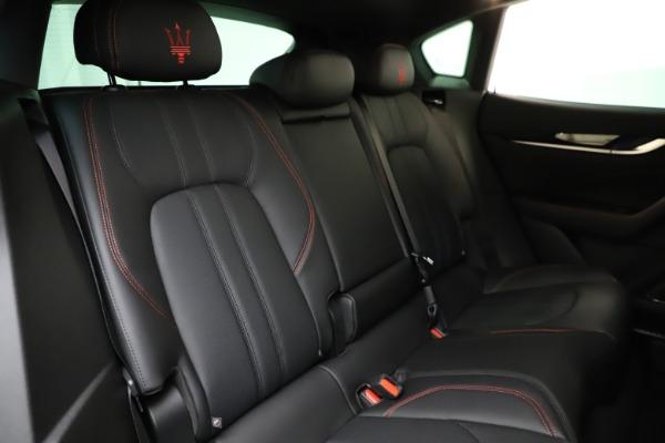 New 2021 Maserati Levante Q4 GranSport for sale $92,485 at Alfa Romeo of Greenwich in Greenwich CT 06830 24