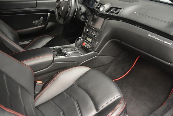 Used 2013 Maserati GranTurismo Sport for sale Sold at Alfa Romeo of Greenwich in Greenwich CT 06830 17