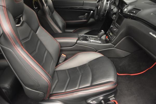 Used 2013 Maserati GranTurismo Sport for sale Sold at Alfa Romeo of Greenwich in Greenwich CT 06830 18