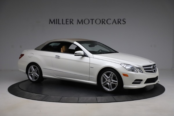 Used 2012 Mercedes-Benz E-Class E 550 for sale $29,990 at Alfa Romeo of Greenwich in Greenwich CT 06830 18