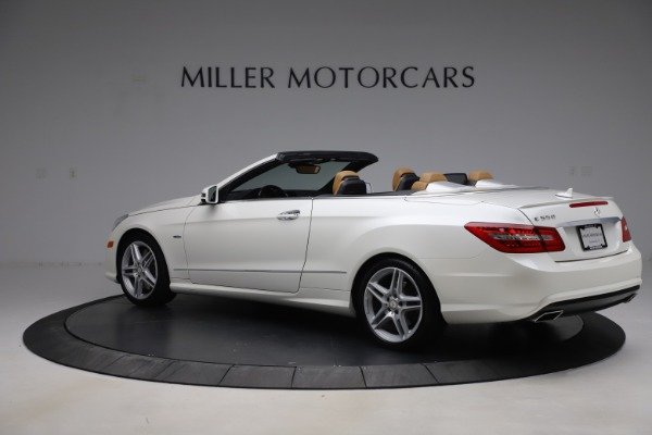 Used 2012 Mercedes-Benz E-Class E 550 for sale $29,990 at Alfa Romeo of Greenwich in Greenwich CT 06830 3