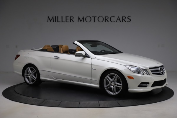 Used 2012 Mercedes-Benz E-Class E 550 for sale $29,990 at Alfa Romeo of Greenwich in Greenwich CT 06830 8