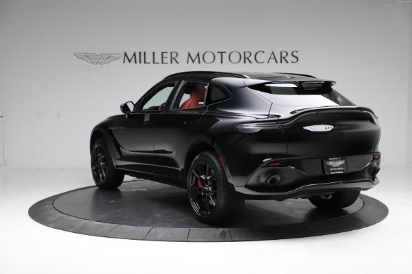 New 2021 Aston Martin DBX SUV for sale $200,986 at Alfa Romeo of Greenwich in Greenwich CT 06830 4