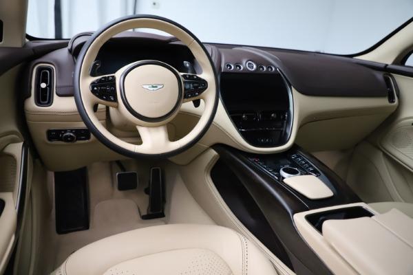 New 2021 Aston Martin DBX for sale $215,386 at Alfa Romeo of Greenwich in Greenwich CT 06830 13