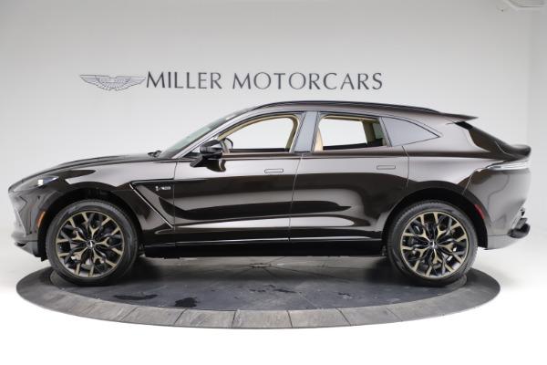 New 2021 Aston Martin DBX SUV for sale $215,386 at Alfa Romeo of Greenwich in Greenwich CT 06830 2