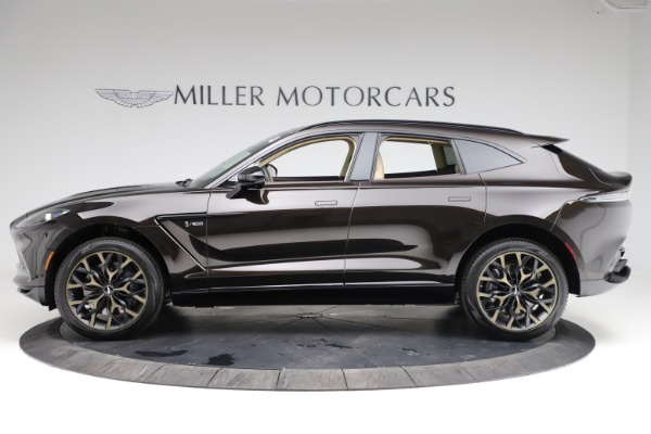 New 2021 Aston Martin DBX for sale $215,386 at Alfa Romeo of Greenwich in Greenwich CT 06830 2