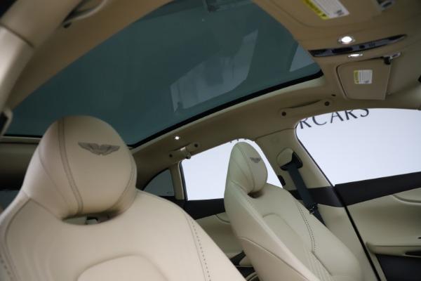 New 2021 Aston Martin DBX for sale $215,386 at Alfa Romeo of Greenwich in Greenwich CT 06830 25