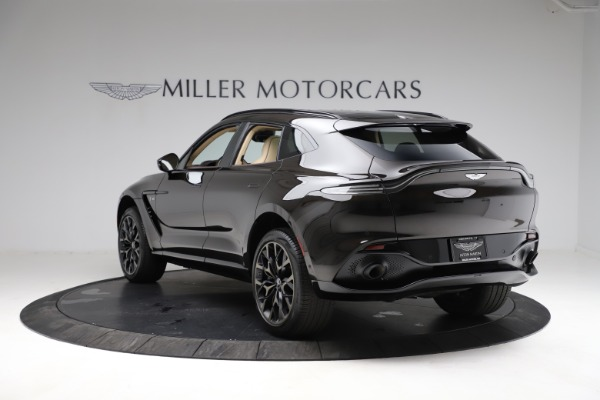 New 2021 Aston Martin DBX SUV for sale $215,386 at Alfa Romeo of Greenwich in Greenwich CT 06830 4