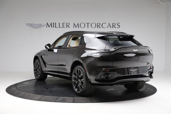 New 2021 Aston Martin DBX for sale $215,386 at Alfa Romeo of Greenwich in Greenwich CT 06830 4