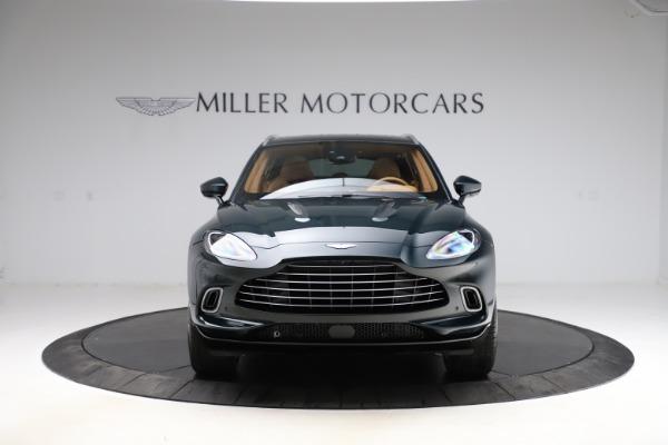 New 2021 Aston Martin DBX SUV for sale $221,386 at Alfa Romeo of Greenwich in Greenwich CT 06830 10