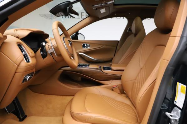 New 2021 Aston Martin DBX SUV for sale $221,386 at Alfa Romeo of Greenwich in Greenwich CT 06830 11
