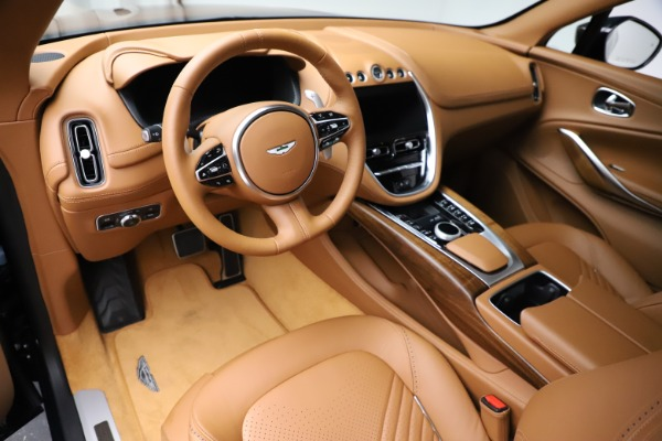 New 2021 Aston Martin DBX SUV for sale $221,386 at Alfa Romeo of Greenwich in Greenwich CT 06830 12