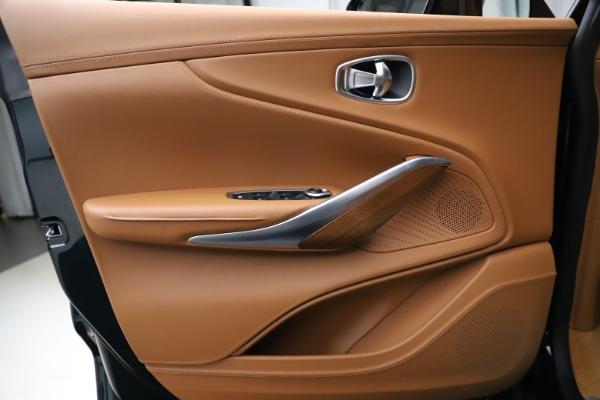 New 2021 Aston Martin DBX SUV for sale $221,386 at Alfa Romeo of Greenwich in Greenwich CT 06830 13