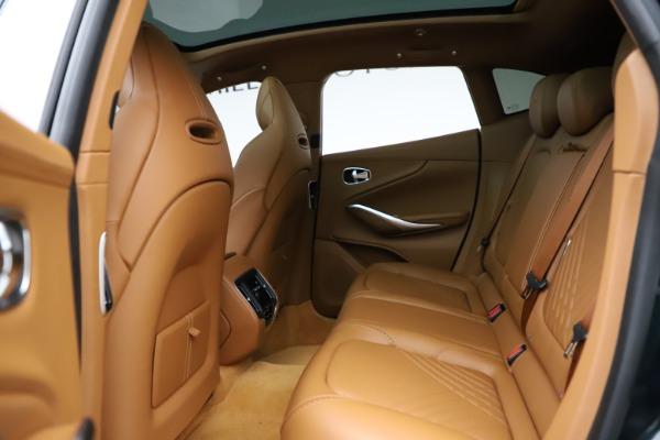 New 2021 Aston Martin DBX SUV for sale $221,386 at Alfa Romeo of Greenwich in Greenwich CT 06830 15