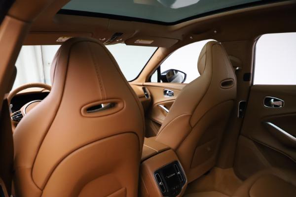 New 2021 Aston Martin DBX SUV for sale $221,386 at Alfa Romeo of Greenwich in Greenwich CT 06830 16