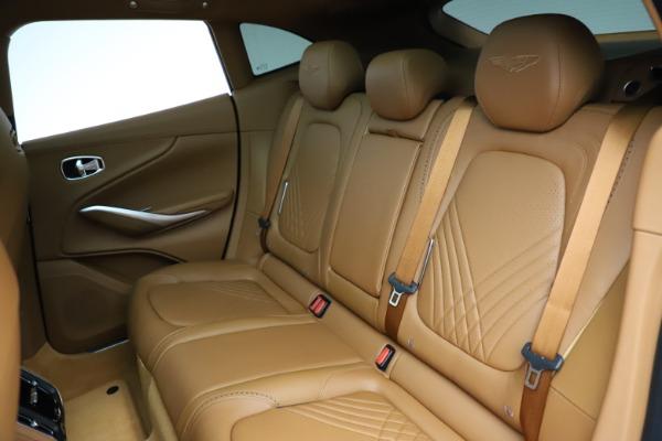 New 2021 Aston Martin DBX SUV for sale $221,386 at Alfa Romeo of Greenwich in Greenwich CT 06830 17