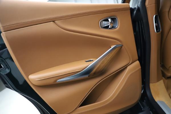 New 2021 Aston Martin DBX SUV for sale $221,386 at Alfa Romeo of Greenwich in Greenwich CT 06830 18