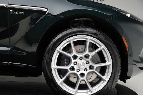 New 2021 Aston Martin DBX SUV for sale $221,386 at Alfa Romeo of Greenwich in Greenwich CT 06830 22