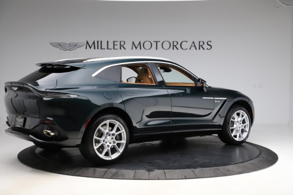 New 2021 Aston Martin DBX SUV for sale $221,386 at Alfa Romeo of Greenwich in Greenwich CT 06830 7