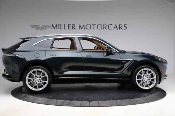 New 2021 Aston Martin DBX SUV for sale $221,386 at Alfa Romeo of Greenwich in Greenwich CT 06830 8