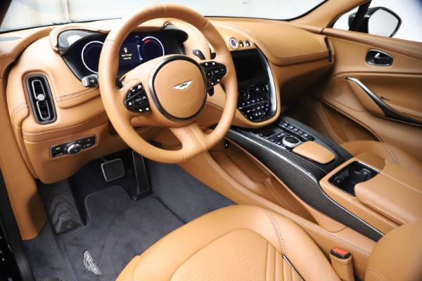 New 2021 Aston Martin DBX SUV for sale $264,386 at Alfa Romeo of Greenwich in Greenwich CT 06830 14