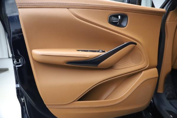 New 2021 Aston Martin DBX SUV for sale $264,386 at Alfa Romeo of Greenwich in Greenwich CT 06830 16