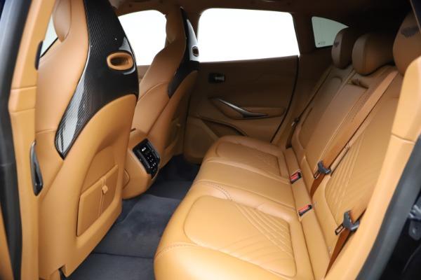 New 2021 Aston Martin DBX SUV for sale $264,386 at Alfa Romeo of Greenwich in Greenwich CT 06830 17