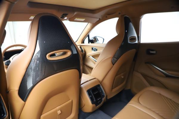 New 2021 Aston Martin DBX SUV for sale $264,386 at Alfa Romeo of Greenwich in Greenwich CT 06830 18