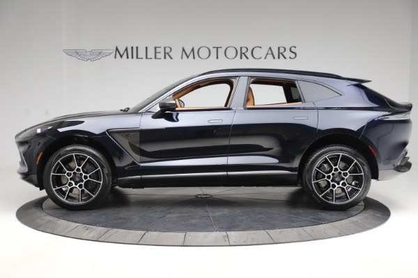 New 2021 Aston Martin DBX SUV for sale $264,386 at Alfa Romeo of Greenwich in Greenwich CT 06830 2