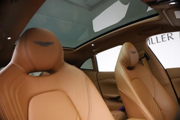 New 2021 Aston Martin DBX SUV for sale $264,386 at Alfa Romeo of Greenwich in Greenwich CT 06830 21