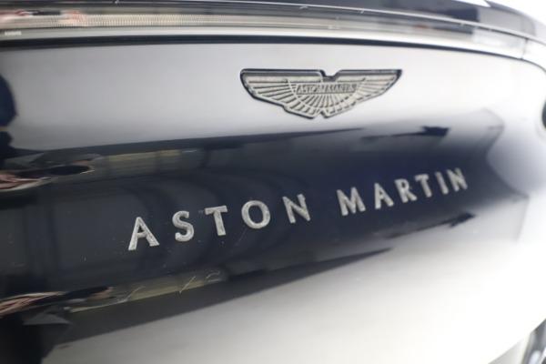New 2021 Aston Martin DBX SUV for sale $264,386 at Alfa Romeo of Greenwich in Greenwich CT 06830 25