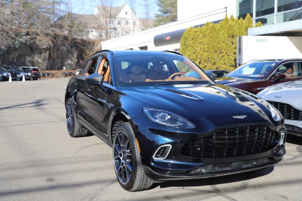 New 2021 Aston Martin DBX for sale $264,386 at Alfa Romeo of Greenwich in Greenwich CT 06830 28