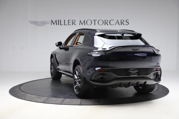 New 2021 Aston Martin DBX SUV for sale $264,386 at Alfa Romeo of Greenwich in Greenwich CT 06830 4