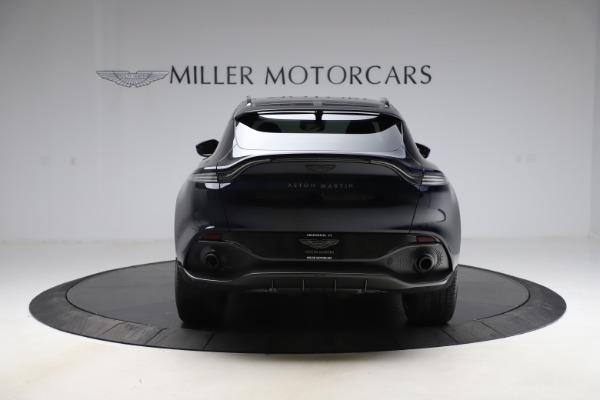 New 2021 Aston Martin DBX SUV for sale $264,386 at Alfa Romeo of Greenwich in Greenwich CT 06830 5