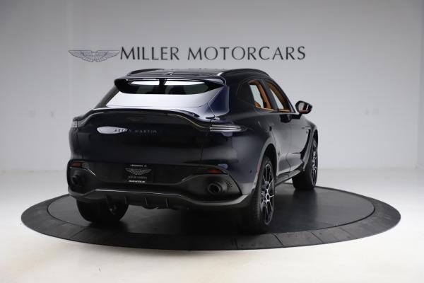 New 2021 Aston Martin DBX SUV for sale $264,386 at Alfa Romeo of Greenwich in Greenwich CT 06830 6
