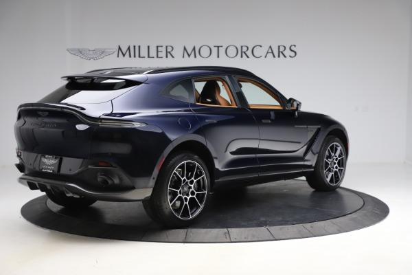New 2021 Aston Martin DBX SUV for sale $264,386 at Alfa Romeo of Greenwich in Greenwich CT 06830 7