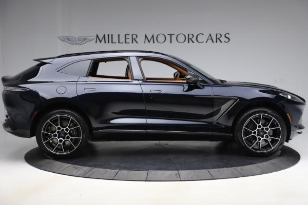 New 2021 Aston Martin DBX SUV for sale $264,386 at Alfa Romeo of Greenwich in Greenwich CT 06830 8
