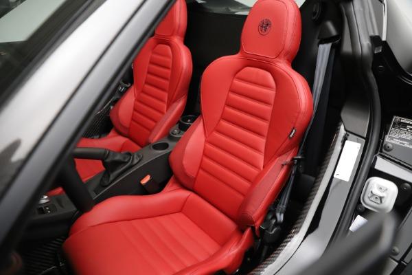 New 2020 Alfa Romeo 4C Spider for sale Sold at Alfa Romeo of Greenwich in Greenwich CT 06830 21