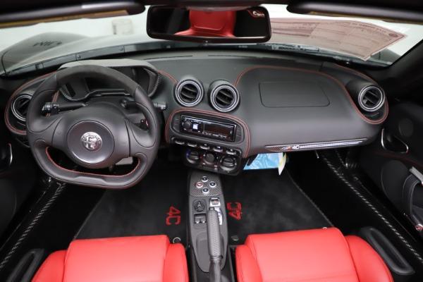 New 2020 Alfa Romeo 4C Spider for sale Sold at Alfa Romeo of Greenwich in Greenwich CT 06830 22