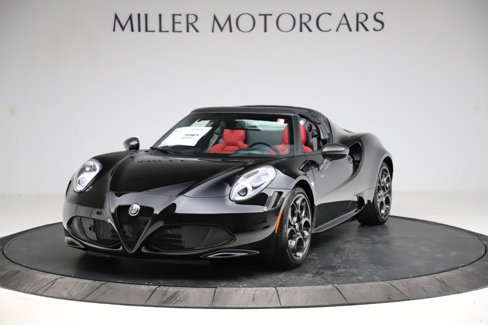 New 2020 Alfa Romeo 4C Spider for sale Sold at Alfa Romeo of Greenwich in Greenwich CT 06830 1