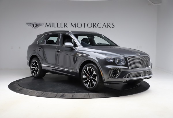 New 2021 Bentley Bentayga V8 for sale $213,720 at Alfa Romeo of Greenwich in Greenwich CT 06830 11