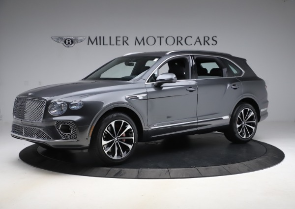New 2021 Bentley Bentayga V8 for sale $213,720 at Alfa Romeo of Greenwich in Greenwich CT 06830 2