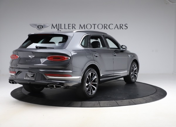 New 2021 Bentley Bentayga V8 for sale $213,720 at Alfa Romeo of Greenwich in Greenwich CT 06830 7