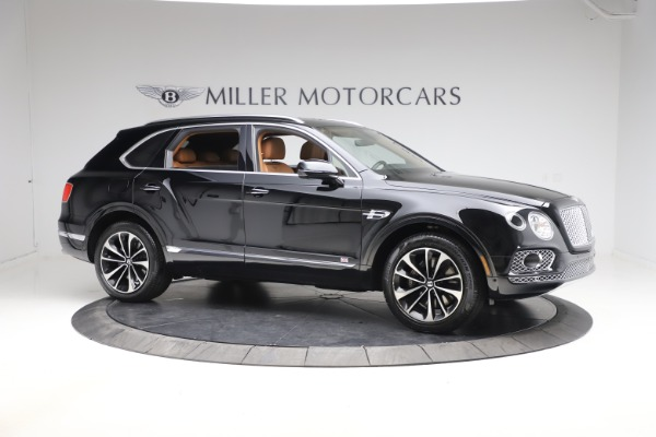 Used 2018 Bentley Bentayga Onyx Edition for sale $147,900 at Alfa Romeo of Greenwich in Greenwich CT 06830 6