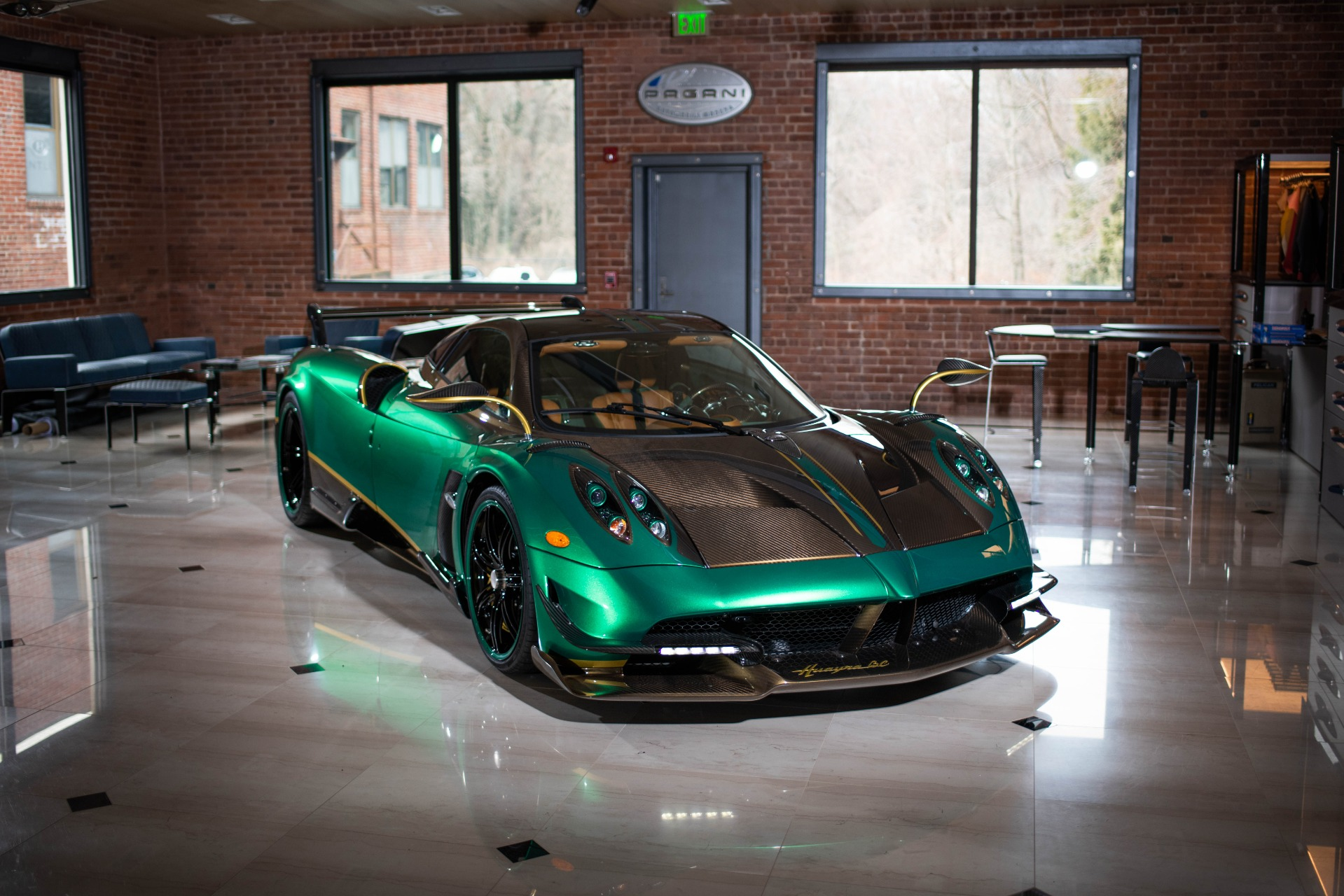 Used 2017 Pagani Huayra BC for sale Call for price at Alfa Romeo of Greenwich in Greenwich CT 06830 1