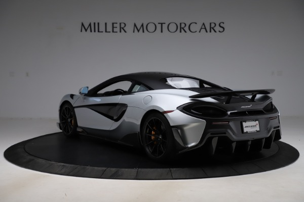 Used 2019 McLaren 600LT for sale $223,900 at Alfa Romeo of Greenwich in Greenwich CT 06830 4