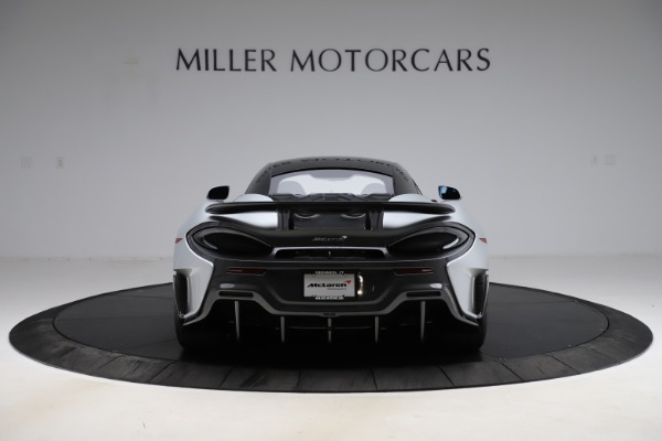 Used 2019 McLaren 600LT for sale $223,900 at Alfa Romeo of Greenwich in Greenwich CT 06830 5