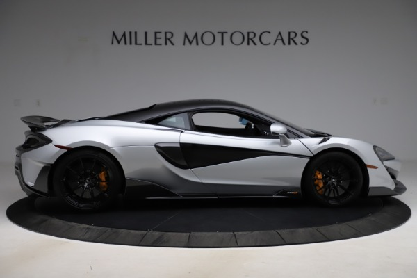 Used 2019 McLaren 600LT for sale $223,900 at Alfa Romeo of Greenwich in Greenwich CT 06830 8