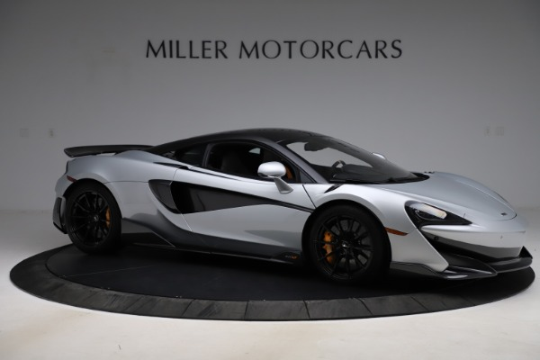 Used 2019 McLaren 600LT for sale $223,900 at Alfa Romeo of Greenwich in Greenwich CT 06830 9
