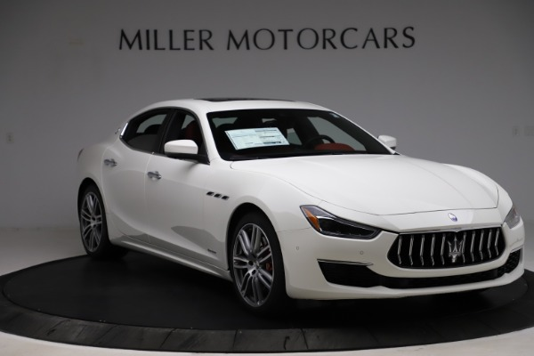 New 2021 Maserati Ghibli S Q4 GranLusso for sale $95,835 at Alfa Romeo of Greenwich in Greenwich CT 06830 11